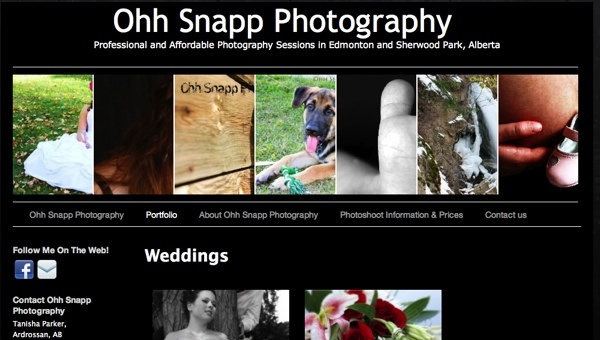 Ohh Snapp Photography - Yorkton, Melville, Saskatchewan, Canada